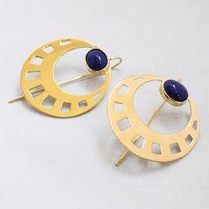 Pendientes Egipcios Redondos - Li Jewels #ethnic #inspiration #jewelry #earrings  www.lijewels.com