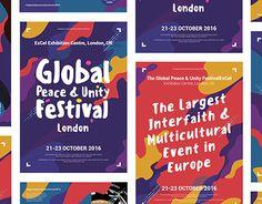 Global Peace & Unity Festival Branding