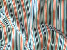 Tkanina bawełna paski marynarskie niebieski granat czerwony biały