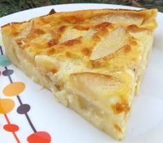 Le fondant de la poire, la douceur d'un gâteau léger comme un clafoutis/flan, pourquoi s'en priver surtout qu'il n'affiche que 121 cal...
