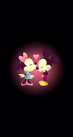 Mickey Mouse >> kiss