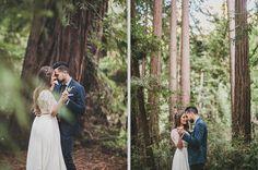 Eine Bohemian Hochzeit im Wald | Friedatheres.com