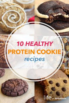 10 Irresistible Protein Cookie Recipes via @dailyburn