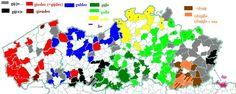 """Overzicht van """"jullie"""" in de Vlaamse dialecten"""