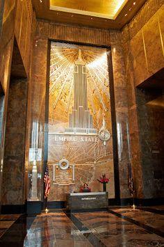 Empire State Building. New York, New York.