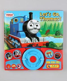 Take a look at this Let's Go, Thomas! Sound Hardcover by Thomas & Friends on #zulily today!