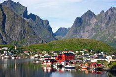 Lofoten Island Norway Images n Detail Beautiful Places To Visit, Wonderful Places, Beautiful World, Beautiful Norway, Places To Travel, Places To Go, Lofoten Islands Norway, Les Fjords, Landscape Pictures