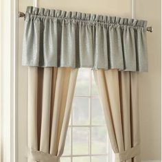 """Loon Peak Myles Leather 84"""" Valance & Reviews 