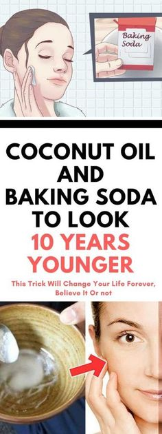 Do Very Simple & Easy Lifestyle changes and Look yrs younger in 60 days or less! Amazing Homemade Natural Cleanser that will take care your wrinkles and sagging facial skin. It will provide deep cleansing of the pores and aid your efforts to remove Baking Soda Coconut Oil, Baking Soda Face, Baking Soda Shampoo, Baking Soda Uses, Natural Facial Cleanser, Natural Face, Face Cleanser, Facial Cleansers, Natural Beauty