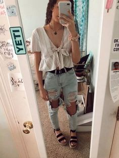 trendy outfits for school ; trendy outfits for summer ; trendy outfits for women ; Cute Summer Outfits, Cute Casual Outfits, Fall Outfits, Cute College Outfits, Casual School Outfits, College Style, Cute College Clothes, Spring School Outfits, Casual Chic