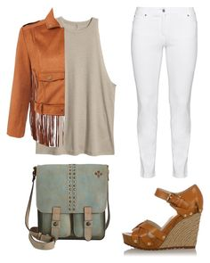 """""""Casual day"""" by harryana-aparcedo ❤ liked on Polyvore featuring Michael Kors, Steilmann and Patricia Nash"""
