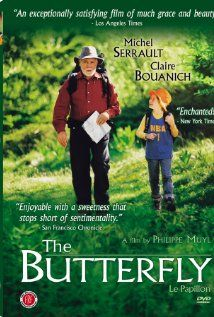 The Butterfly (2002) Poster. I cute French movie. :)