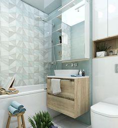 Bathroom Inspo, Simple Bathroom, Bathroom Interior Design, Interior Decorating, Design Case, New Room, Kitchen Design, New Homes, Room Decor