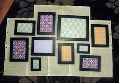 diy photo collage picture frames