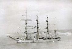 Belgian 4-masted barque 'L'Avenir'