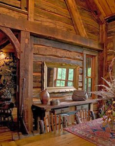 58 wooden cabin decorating ideas home design ideas diy Wooden Lodges, Wooden Cabins, Cabin Interiors, Rustic Interiors, Home Design, Interior Design, Diy Interior, Design Ideas, Design Design