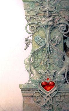"""Cornerstone"" ~ Daniel Merriam ~ Watercolorist Extraordinaire ~ Miks' Pics ""Daniel Merriam ll"" board @ http://www.pinterest.com/msmgish/daniel-merriam-ll/"