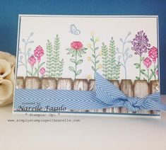 Narelle Fasulo - Independent Stampin' Up! Demonstrator - Flowering Fields