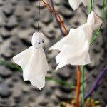 Halloween Ghost Tree Centerpiece