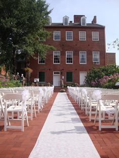 The 1840s Plaza consists of several prominent historic structures in the heart of Baltimore's Museum Row. The complex, a designated Baltimore city landmark, provides an alternative tourist destination spot for visitors near and far to Baltimore's Inner Harbor. It serves as reception and ceremony site with four floors of event space, and a promenade.