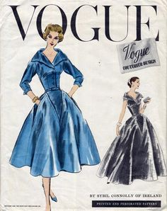 Fifties Vintage Sewing Pattern