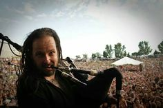 Love that he plays pipes (because I play them too! Show Me Your Love, My Love, Great Bands, Cool Bands, Jonathan Davis, Korn, Dubstep, Metalhead, Music Lyrics