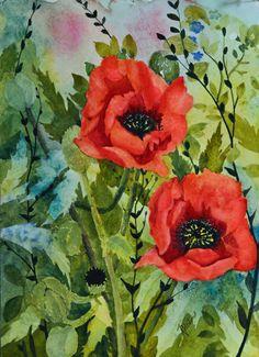 Art and Collectibles fine art framed floral by TerriRobertsonArt