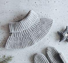 Crochet pattern: Ribbon Neckwarmer by Svetlana Kochkina