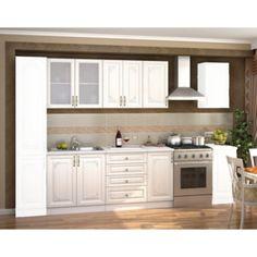 CASARREDO Kuchyňská linka VICTORIE 180 cm bílý santál Provence, Kitchen Cabinets, Victoria, Modern, Home Decor, Trendy Tree, Decoration Home, Room Decor, Cabinets