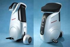Honda uses robotic technology in hands free Uni-Cub unicycle