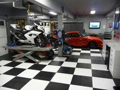 Dream garage.