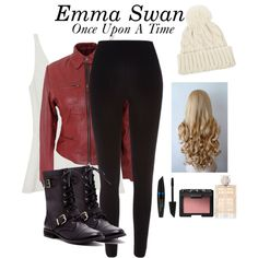 Emma Swan (Once Upon A Time Inspired) ❤️ (Created by Ellie✨) Any character requests? Add and message me on polyvore @girlwhocriedwifi :)