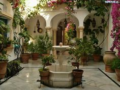Patio   Tapeta Fontanna, Patio #patiodesign #home