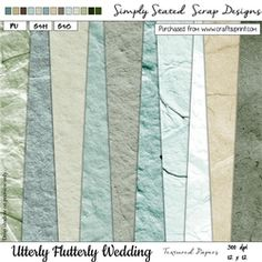 Utterly Flutterly Wedding Textured Papers 12 x 12 on Craftsuprint - View Now! Fabric Paper, Paper Texture, Scrapbook Paper, Wedding, Mariage, Weddings, Marriage, Casamento