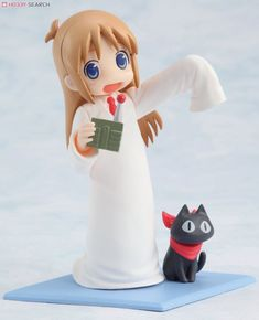 Toys Works Collection 4.5 Nichijou 8 pieces (PVC Figure) Item picture4