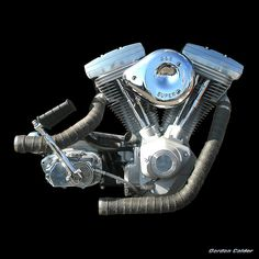 No 71: HARLEY DAVIDSON EVOLUTION (EVO OR BLOCKHEAD) ENGINE | Flickr - Photo Sharing!
