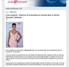 Eva Longoria at The Global Gift Initiative Cannes 2014