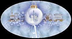 Alfabeto navideño escena invernal. | Oh my Alfabetos!