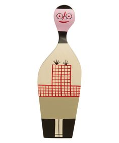 Wooden Doll No. 8 by Alexander Girard is from the Vitra Design Museum collection. It is based on original Girard art work who had initially created a set of wooden dolls for his home in Santa Fe, New Mexico. #libertyhome