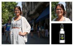 La moda en las calles de Barcelona.