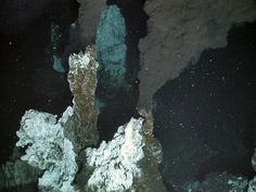 A first glimpse at black smokers on the Antarctic sea floor. These hydrothermal vents contain compounds that make the ultra-heated water they spew out smoke-colored. Discovery News, Sea Floor, Antarctica, Deep Sea, Ecology, Science, Gallery, Water, Earth Science