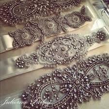 Cinto vestido de novia