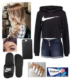 """""""Untitled #28"""" by abbiemiller-1 on Polyvore featuring NIKE and Jennifer Lopez"""