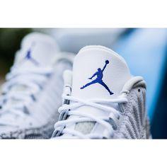 Replica Jordan 11 Ie Low Cobalt Cement Elephant Print | Foot Wearing via Polyvore