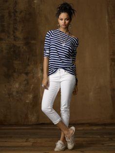 Cropped Stretch Skinny Jean
