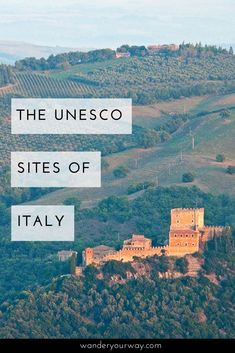 Italy has more UNESCO sites than any other country. And they are fabulous places to put on your list for your visit to this wonderful country. Here are a just a few. Click through to learn more.