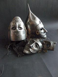 goddessoftheblackcoast:  Persian War masks