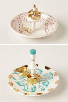 Carousel Trinket Dishes from Anthropologie - more interior inspiration at jojotastic.com