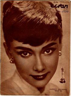 Audrey Hepburn on Cover Ecran Chile Magazine 1954 | eBay