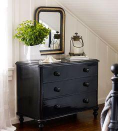 Pretty #black dresser